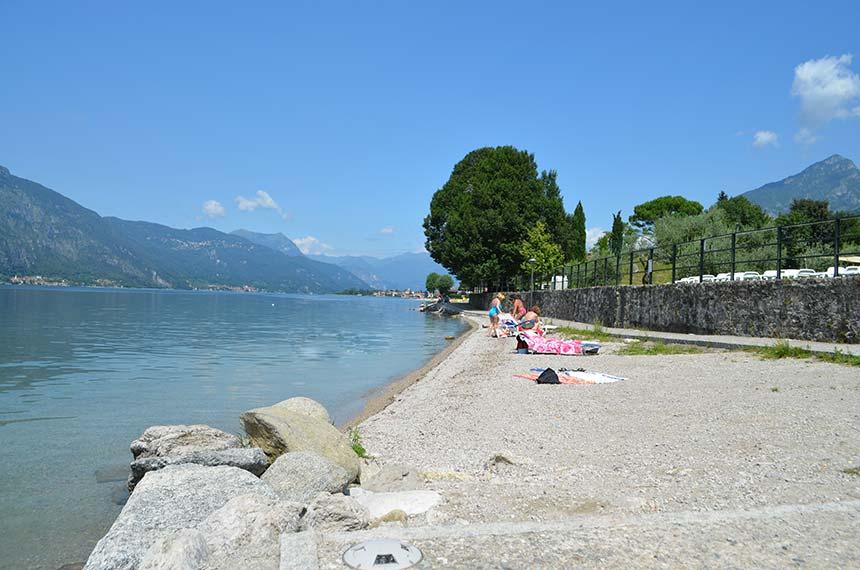 Spiagge e lidi di Lecco e del lago di Como
