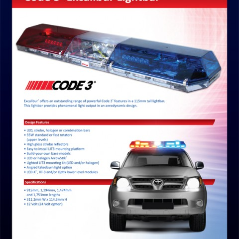 Code 3 light bars australia lightneasy code 3 lights australia www lightneasy net mozeypictures Choice Image