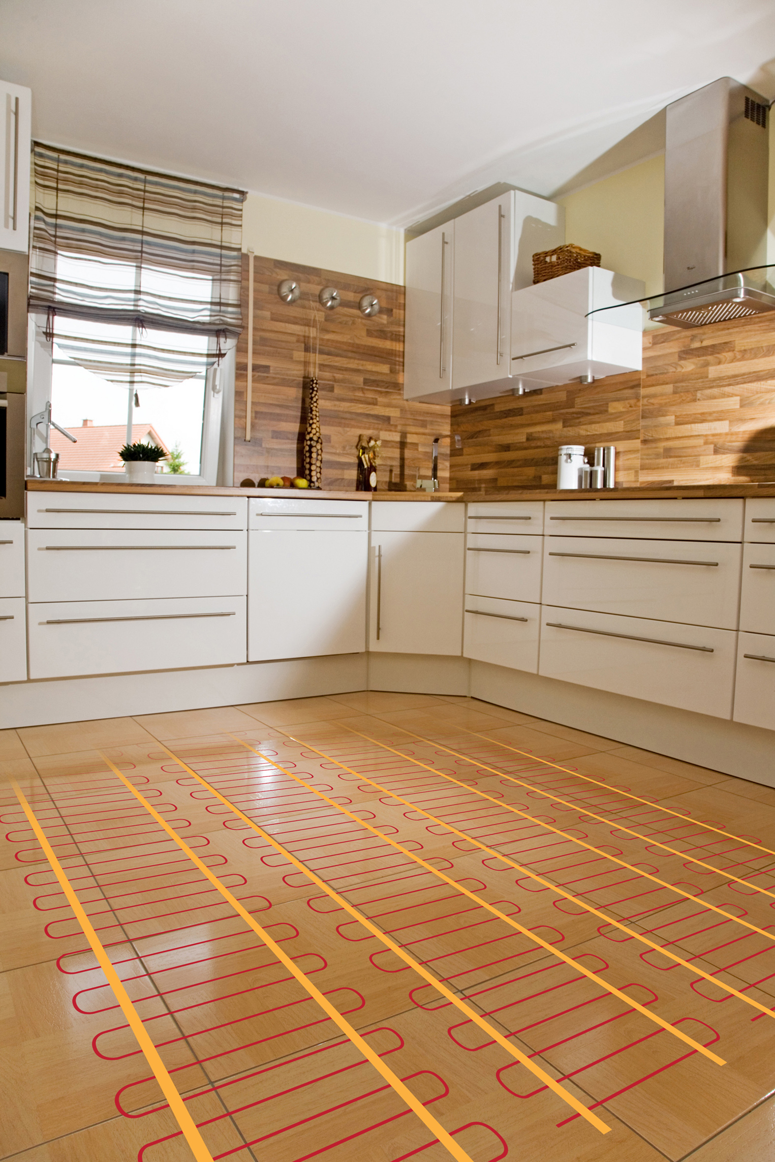 radiant floor heating go electric