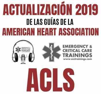 Actualización 2019 de las Guías de ACLS ECCtrainings eccpodcast