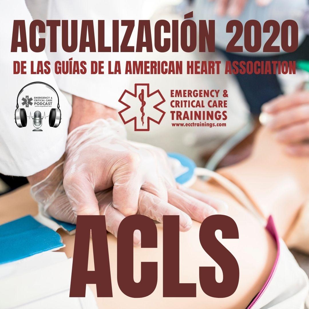 actualización 2020 de ACLS
