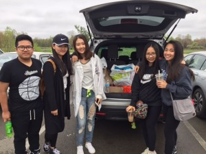 International students attend last field trip before summer