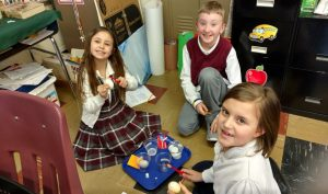 St. Boniface students learn about dental health through series of science experiments
