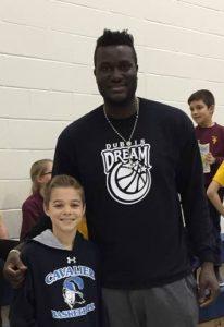 DuBois Dream Basketball Team visits St. Marys Catholic Elementary
