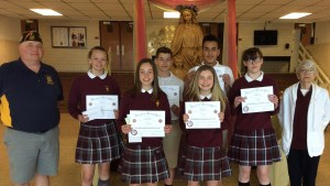 Middle schoolers fare well in Patriot's Pen Contest