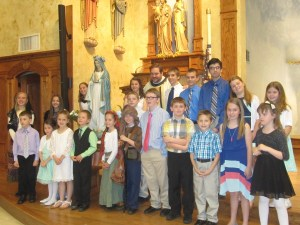 St. Leo School and Church hold special May Crowning celebration