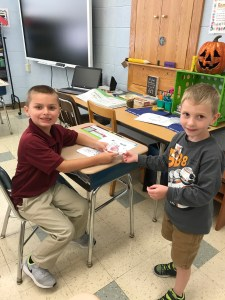 "Preschoolers ""spreading kindness like confetti"""
