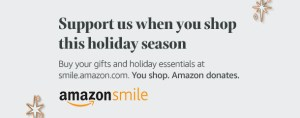 Shop AmazonSmile this holiday season and support ECCSS at the same time!