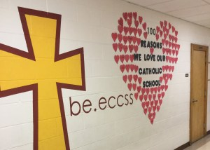 Elementary students show their school some love!