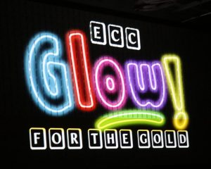"""Glow for the Gold"" pep rally held during Catholic Schools Week"