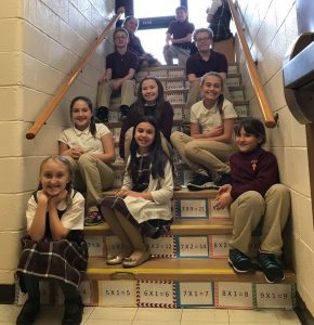 """Fourth graders """"step up"""" their math game"""