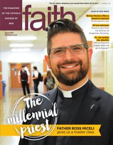 Fr. Ross Miceli featured on April edition of Faith Magazine