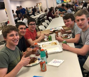 March Madness + Food = Happy Students