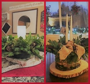 Check out these BEAUTIFUL centerpieces that benefitted ECCSS!