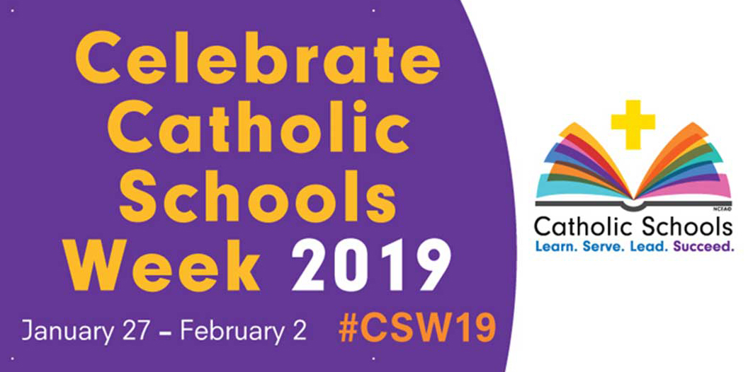Happy Catholic Schools Week! Celebrate by watching this year's ECCSS commercial!