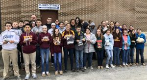 """SMCMS students show their support for """"Kindness for Kinsley"""" campaign"""