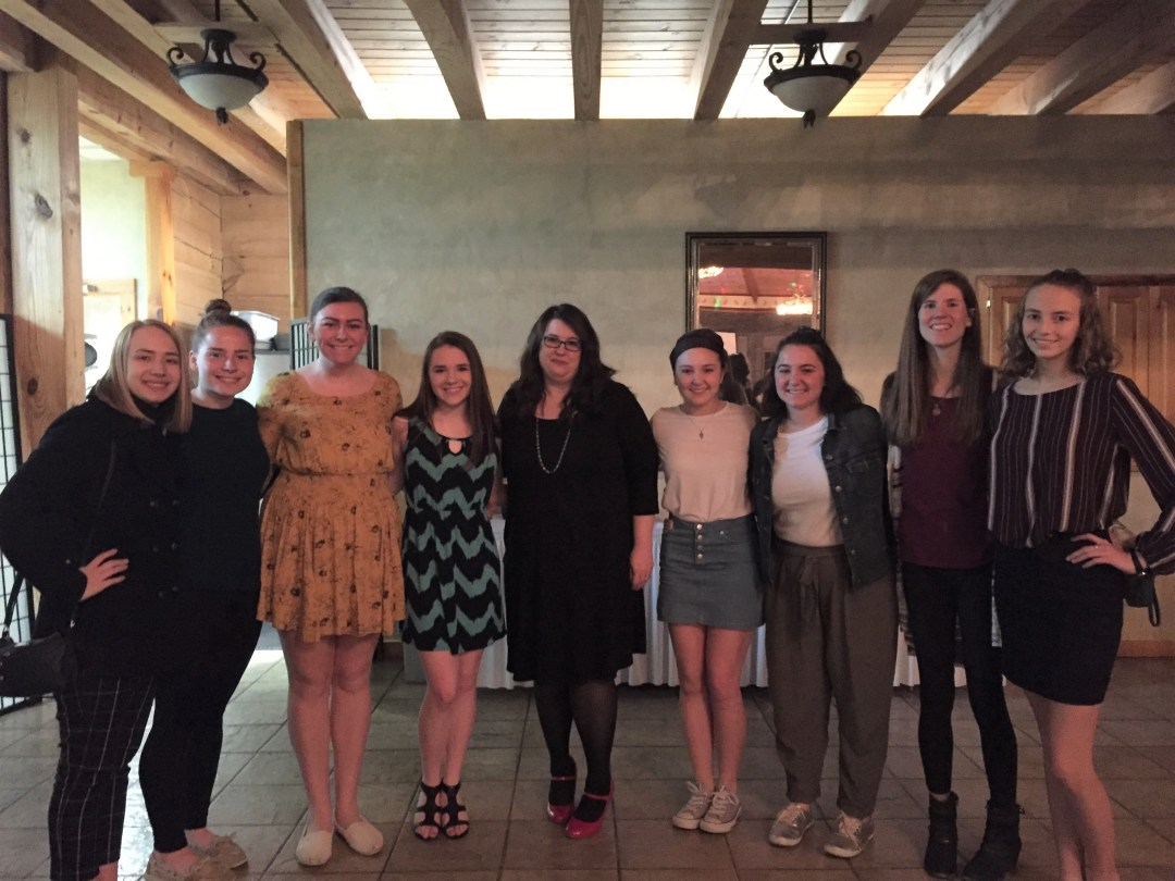 ECC Students for Life members attend local anti-abortion event