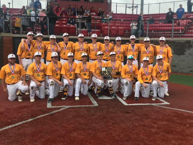 Crusader baseball team earns District 9 championship title