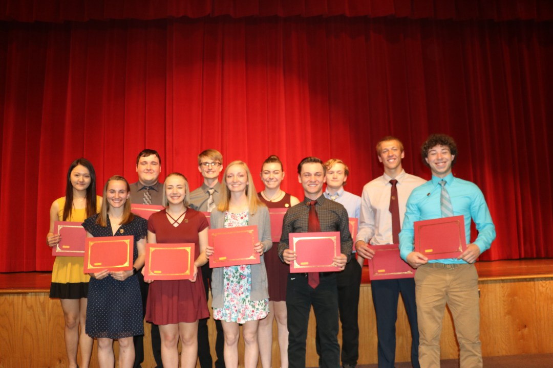 Class of 2019 Award & Scholarship Recipients