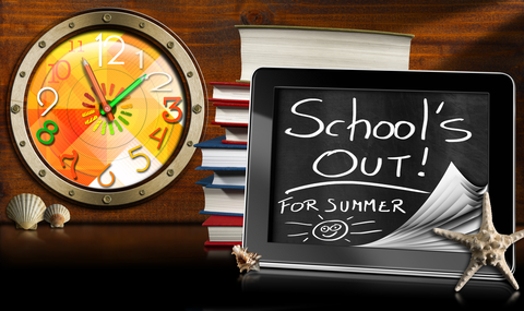 SCHOOLS OUT FOR SUMMER!