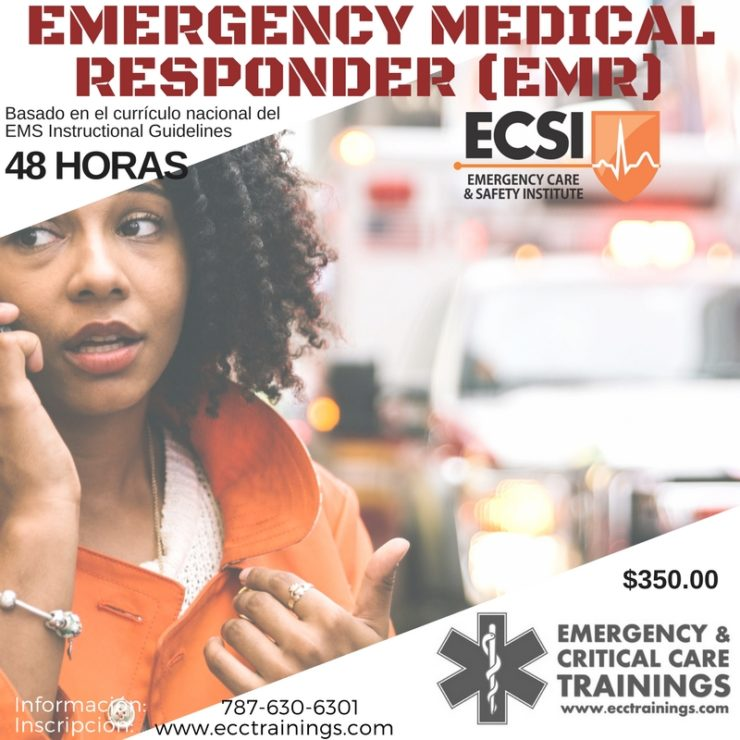 EMR Emergency Medical Responder