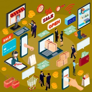 vector-3d-concepto-de-ilustracion-isometrica-de-comercio-electronico-tienda-en-linea_1441-244