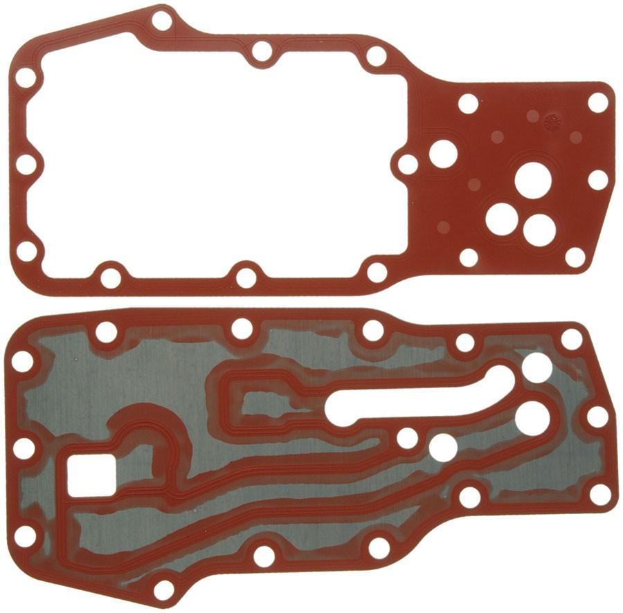 hight resolution of mahle clevite oil cooler oil filter housing gasket kit 03 14 dodge 5 9l 6 7l cummins