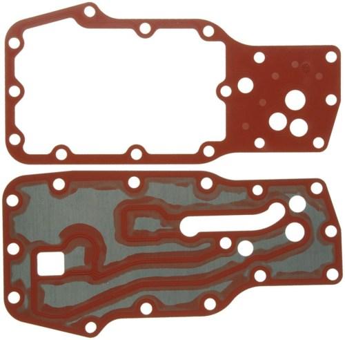 small resolution of mahle clevite oil cooler oil filter housing gasket kit 03 14 dodge 5 9l 6 7l cummins