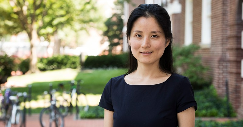 UD Prof. Tingyi Gu is collaborating with the Army Research Laboratory to study materials that exploit the interface between light and electronics for potential use in lasers, displays, memory and more.