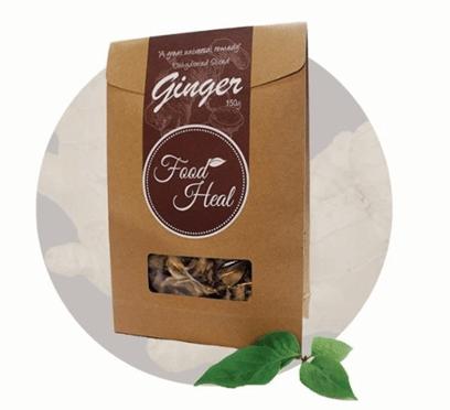 Food Heal Organic Tea Ginger 有機老薑養生茶