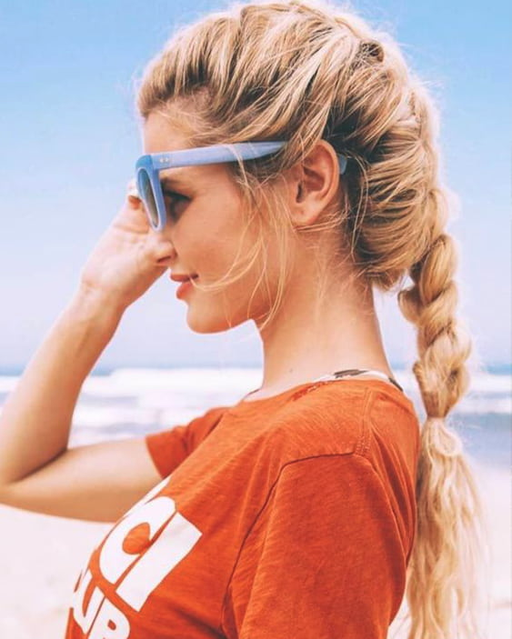 10 Gorgeous Hairstyle Ideas For The Beach  Ecemella