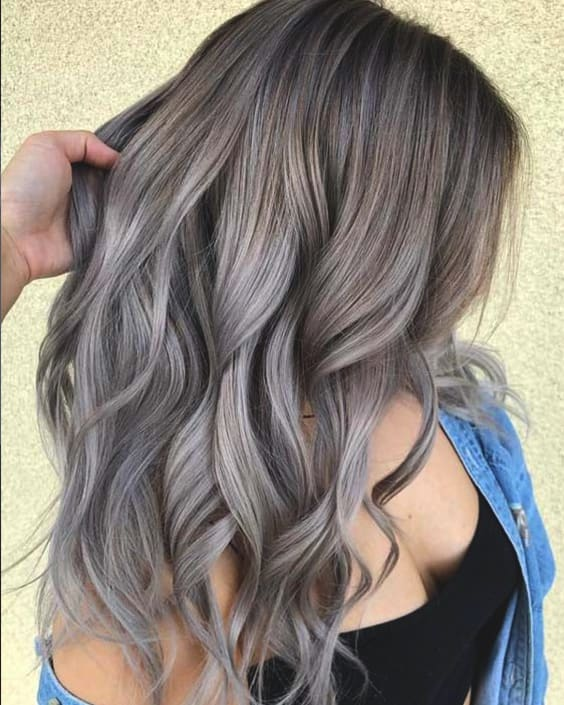 Ash Grey Hair 2019 Best Hair Trends Min Ecemella