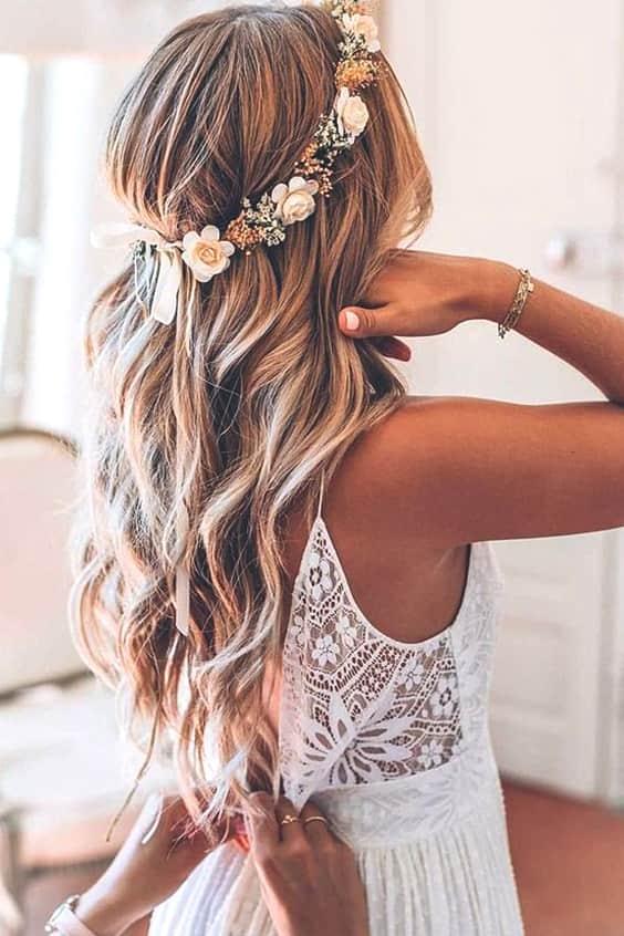 72 romantic wedding hairstyle