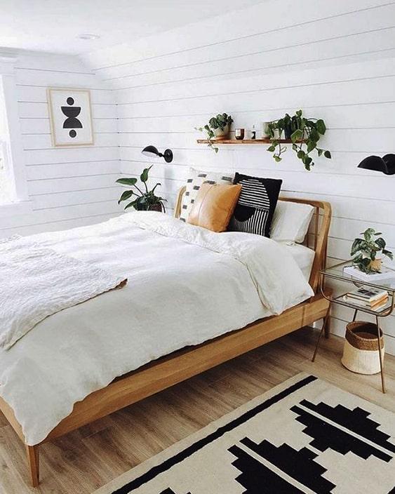 Minimal Boho Bedroom Design Idea Min Ecemella