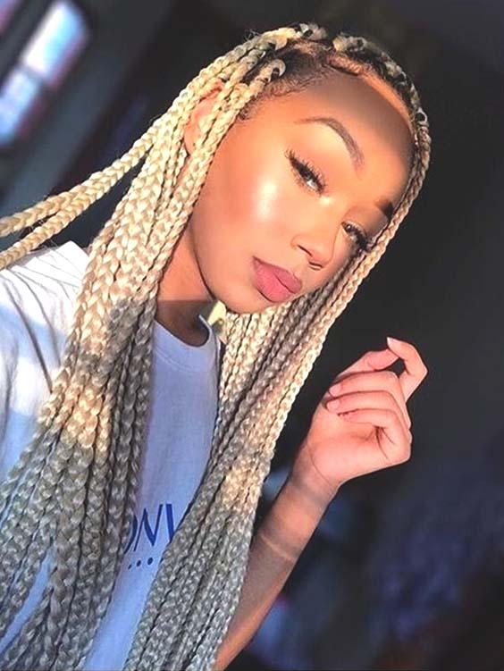 Crochet Blonde Braids For Black Women Ecemella