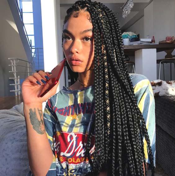Crochet Braids Hairstyles For Summer 2019 Ecemella