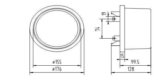 China ANSI Socket Type Three Wire Single Phase Electronic