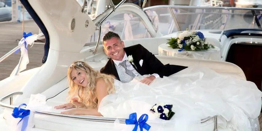 matrimonio barca vela ecerimini