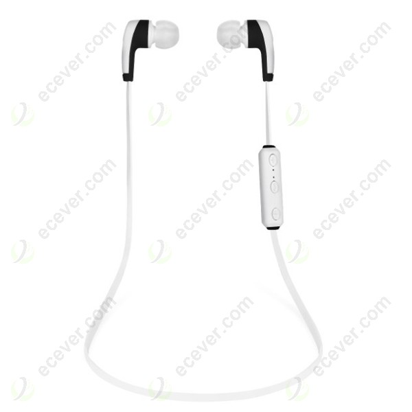 Noodle Flat Cable Bluetooth Earphone Headset for iPhone