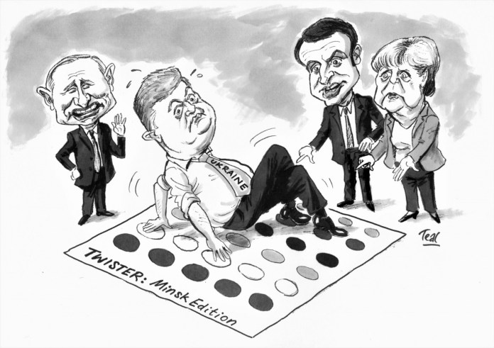 Twister: a Minsk Edition, caricature