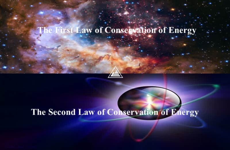 The two laws of conservation of energy