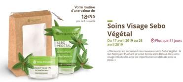 testez gratuitement les soins Sebo Vegetal d'Yves Rocher