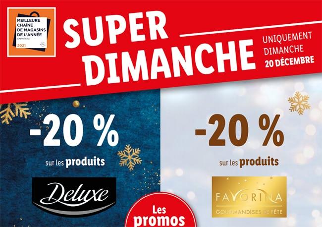 Lidl Ouvert Dimanche 20 De Reduction Sur Les Produits Deluxe