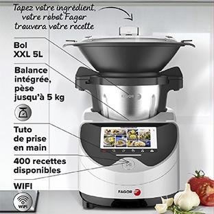 moulinex clickchef robot cuiseur multifonction compact 3 6 l 1400 w 5 programmes 32 fonctions balance cuisine integree cuiseur vapeur batteur