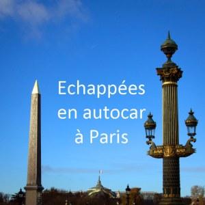 Echappées en autocar à Paris