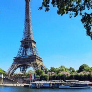 Tour Eiffel et vedettes de Paris
