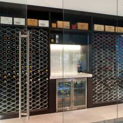 Kitchen Cabinet Pricing Table Set With Bench Wine Racks For Custom Cellars | Rack Bespoke ...