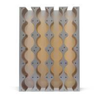 Rhythm Wine Rack Cabinet Insert - 4x6 Bottle - Alloy ...