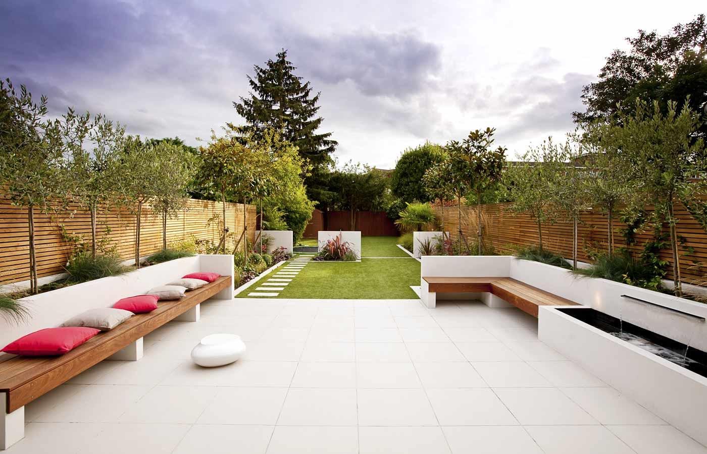 Long Garden Design