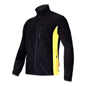 jacheta polar negru+galben